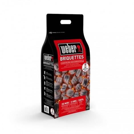 Bricchetti Weber sacco 8 kg carbonella di legna
