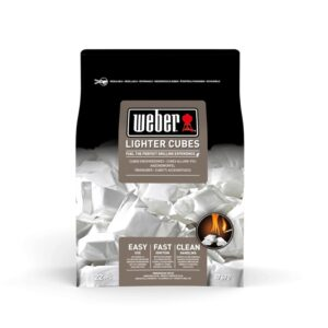 Cubetti accendi-fuoco Weber standard