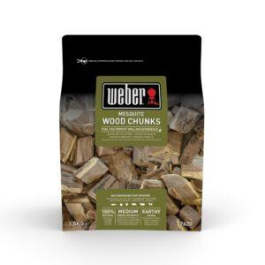 Grandi pezzi di legno per affumicatura Weber - Mesquite