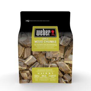 Grandi pezzi di legno per affumicatura Weber - Melo