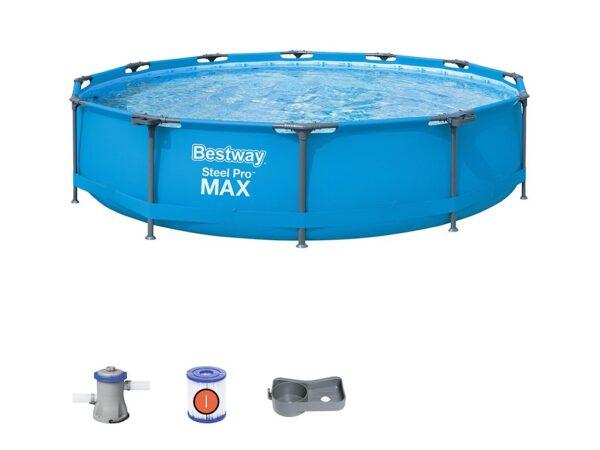 Piscina rotonda Steel Pro MAX™ 366x76 cm