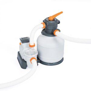 Pompa filtro a sabbia, 8.327 L/H per piscina - Bestway