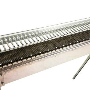griglia a rotazione automatica per arrosticini e spiedini