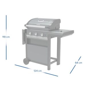 Barbecue a gas 3 Series Select S – Campingaz 7