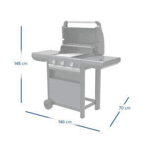 Barbecue a gas 3 Series Select S – Campingaz 8