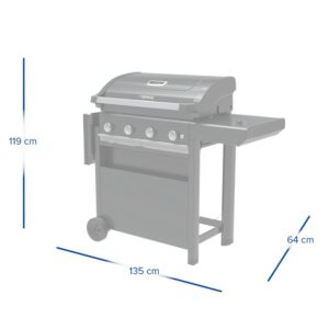 Barbecue a gas 4 Series Select S – Campingaz 2