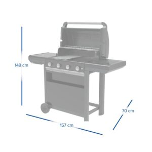 Barbecue a gas 4 Series Select S – Campingaz 3