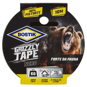 Grizzly Tape nero 10m x 50mm