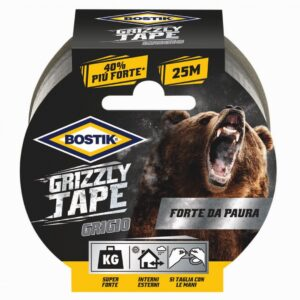 Grizzly Tape grigio 25mt x 50mm
