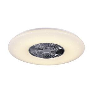 Ventilatore da soffitto a LED dimmerabile - Visby