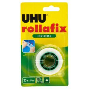 UHU rollafix invisibile ricarica 25mt bl.